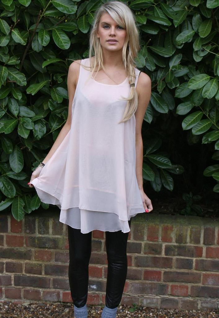 Never Fully Dressed Basic Swing Tunic - Glitzy Angel