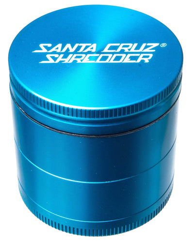Santa Cruz Shredder | Medium 4 Piece Herb Grinder | Sesh Sensei