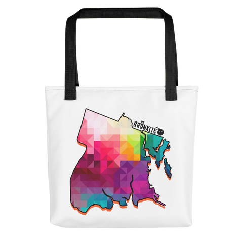 Abstract BX Map Tote bag