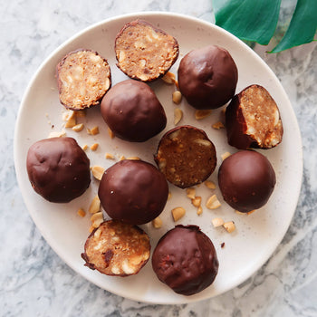 Peanut Butter <br> Protein Truffles