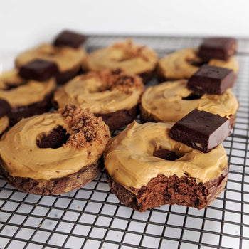 Frosted Choccy <br> Protein Donuts