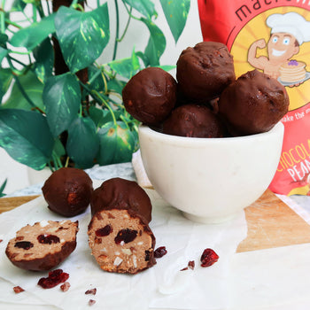 Rocky Road Protein Balls