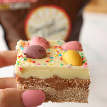 Triple Layer Easter Egg Slice