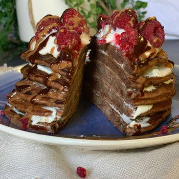 Black Forest <br> Protein Pancakes