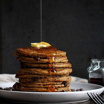 Chocolate Sweet <br> Potato Pancakes