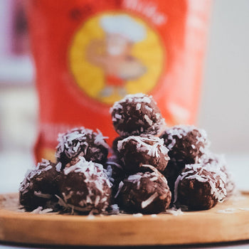 Choccy Lamington <br> Protein Balls