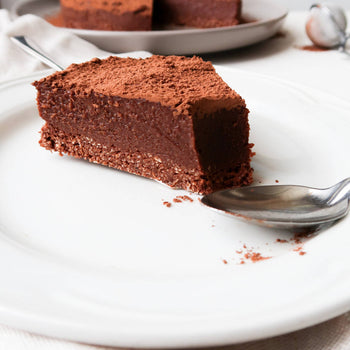 Cocoa Dusted <br> Chocolate Tart