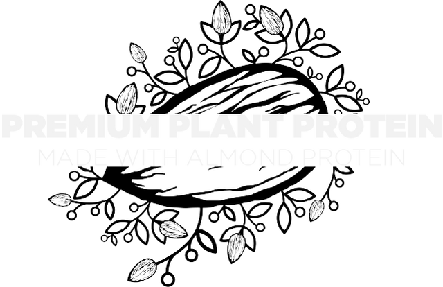 Premium Plant Protein - Made With Almond Protein