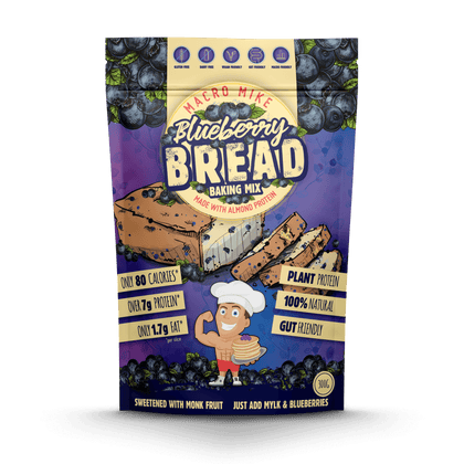 Protein Blueberry Bread Baking Mix (300g Bag)