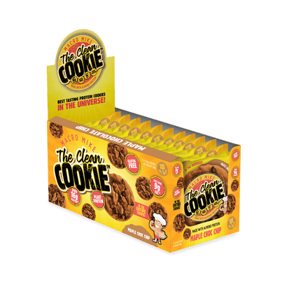 The Clean Cookie - Maple Choc Chip - (Box of 12 x 60g)