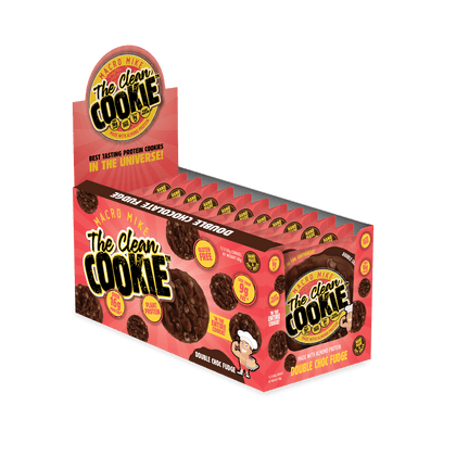 The Clean Cookie - Double Choc Fudge - (Box of 12 x 60g)