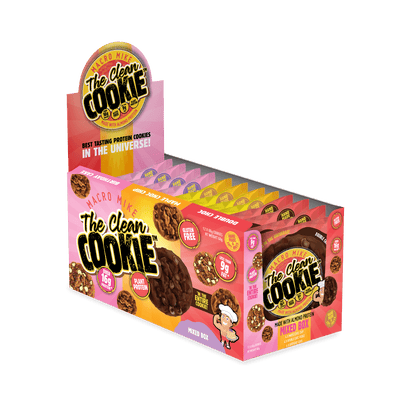 The Clean Cookie - Mixed Box - (Box of 12 x 60g)