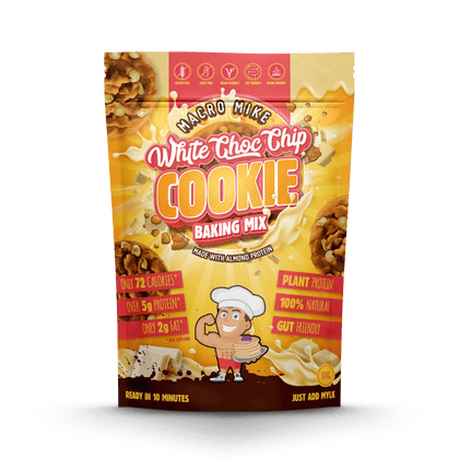 Macro Mike White Chocolate Chip Cookie Baking Mix