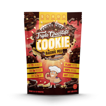 Macro Mike Triple Chocolate Cookie Baking Mix