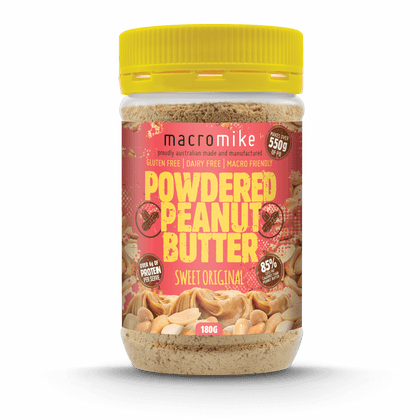 V2 Sweet Original Powdered Peanut Butter (180g Jar)