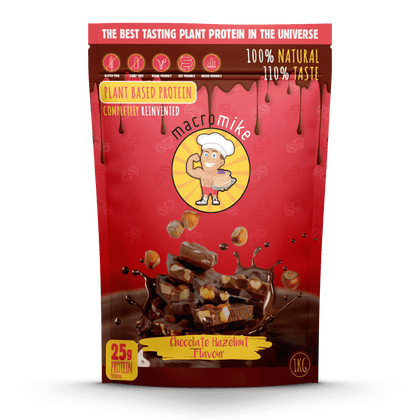 Chocolate Hazelnut Plant Based Protein (1kg Bag)