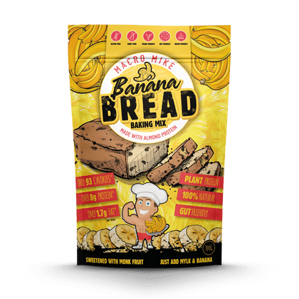 Protein Banana Bread Baking Mix (300g Bag)