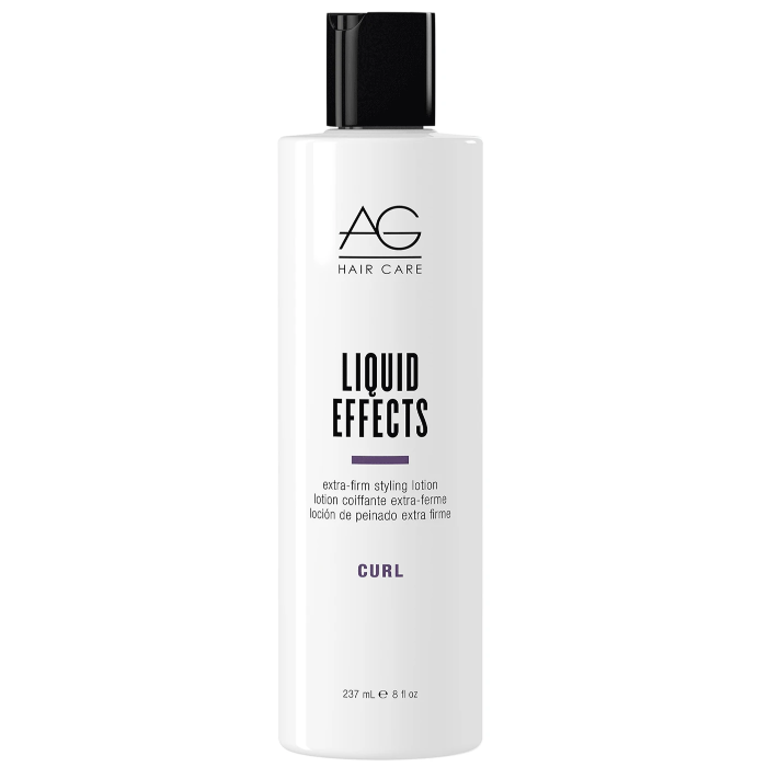 AG Hair Care Liquid Effects Extra-Firm Styling Lotion Curl 8oz / 237mL