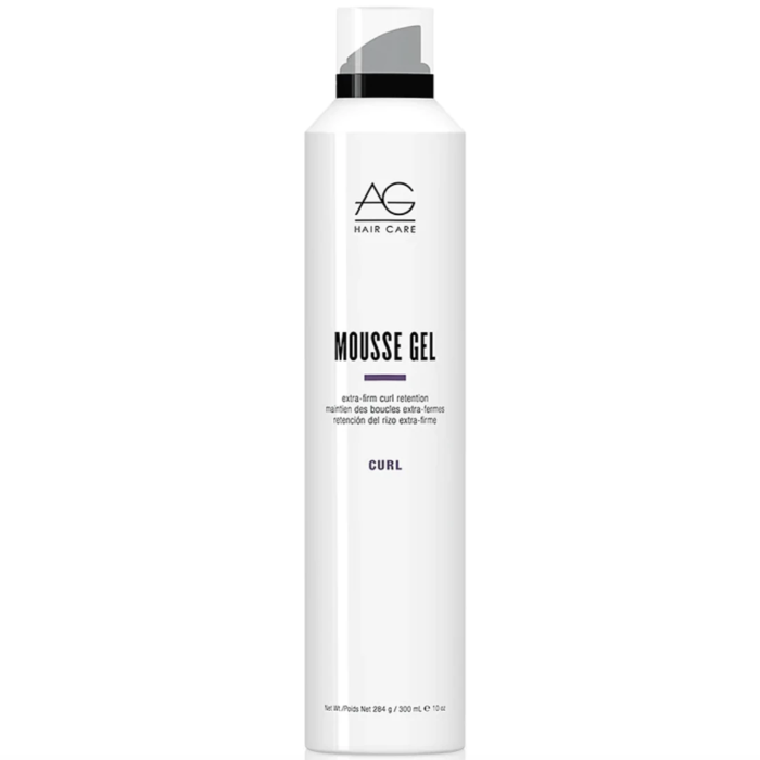 AG Hair Care Mousse Gel Extra-Firm Curl Retention Curl 10oz / 300mL / 284g