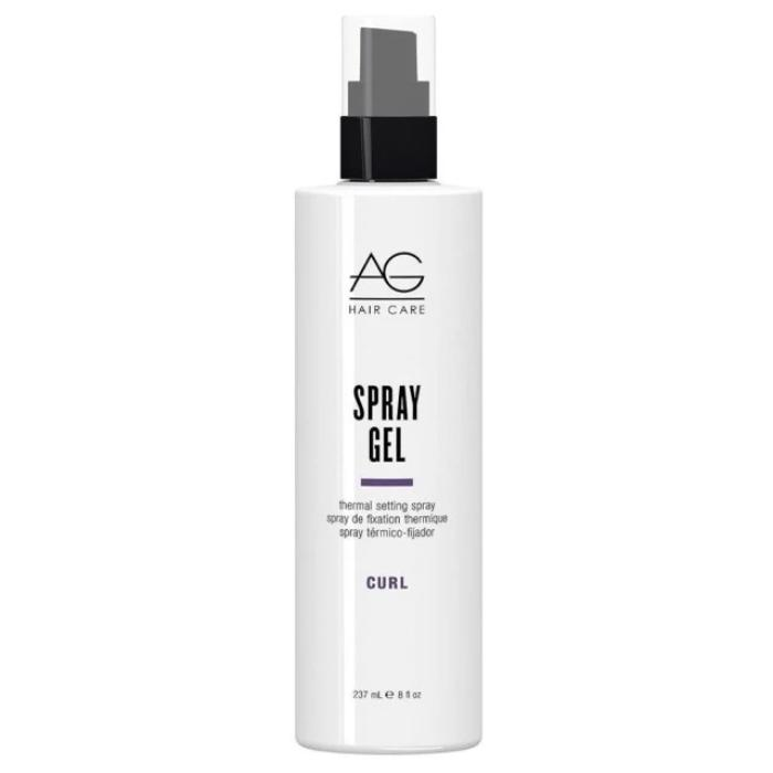 AG Hair Care Spray Gel Thermal Setting Spray Curl 8oz / 237mL
