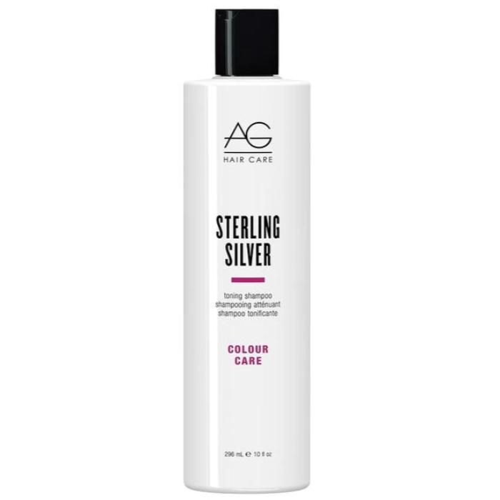 AG Hair Care Sterling Silver Toning Shampoo Color Care 10oz / 296mL