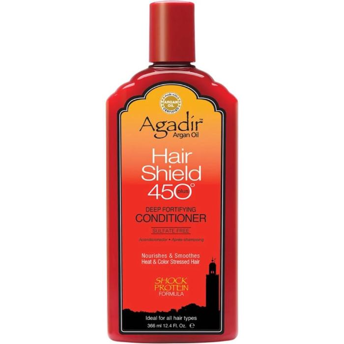 Agadír Argan Oil Hair Shield 450˚ Plus Deep Fortifying Conditioner Sulfate Free 12.4oz / 366ml