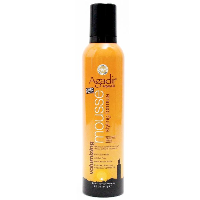 Agadír Argan Oil Volumizing Mousse Styling Formula Sulfate Free 8.5oz / 241g