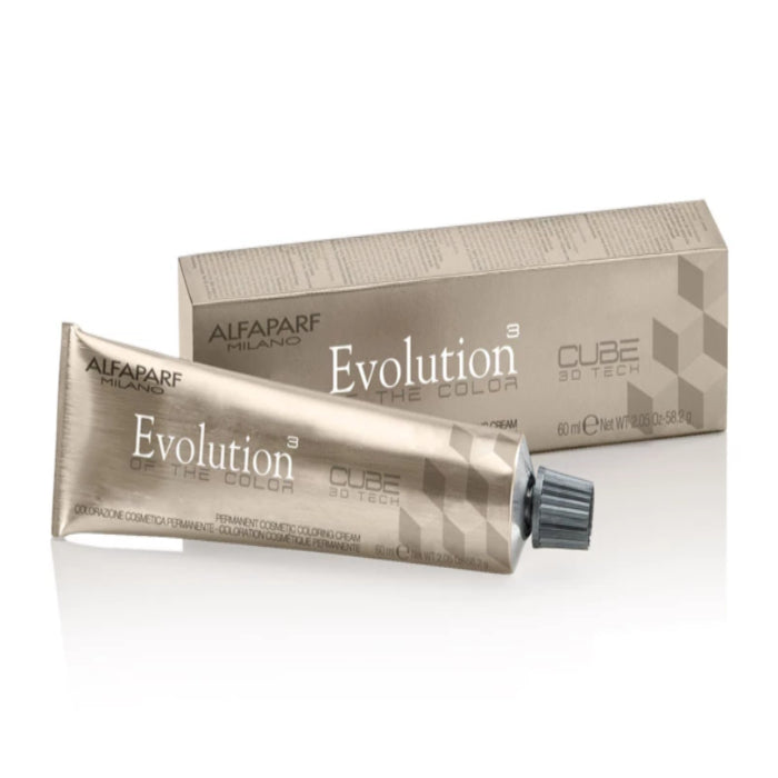 Alfaparf Milano Evolution Of The Color Cube 3D Tech Permanent Coloring Cream 2.05oz / 60ml / 58.2g (Continue)