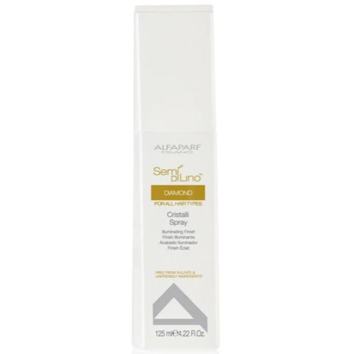 Alfaparf Milano Semi Di Lino Diamond Cristalli Spray Illuminating Finish 4.22oz / 125ml