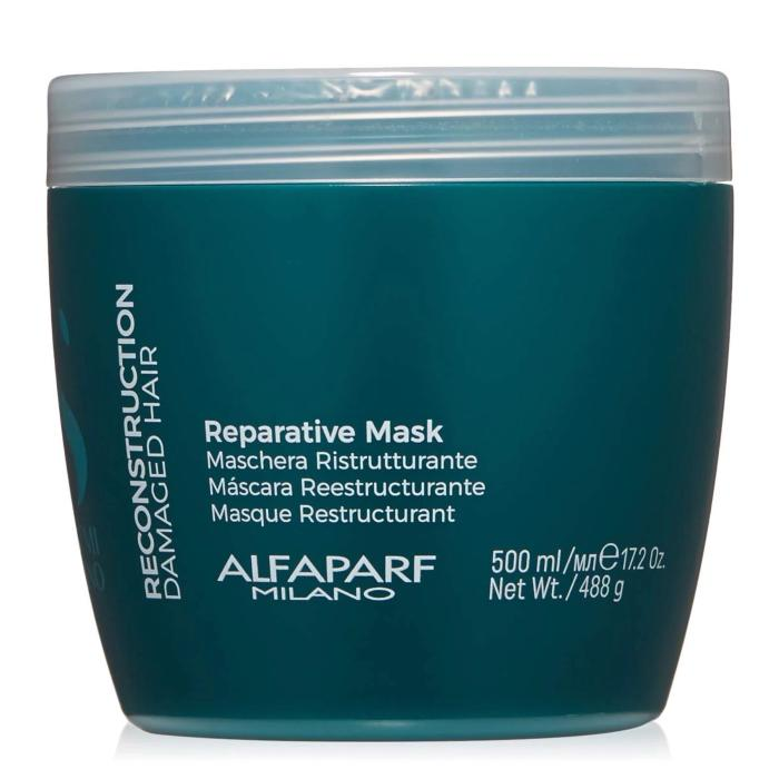 Alfaparf Milano Semi Di Lino Reparative Mask 17.2oz / 500ml / 488g