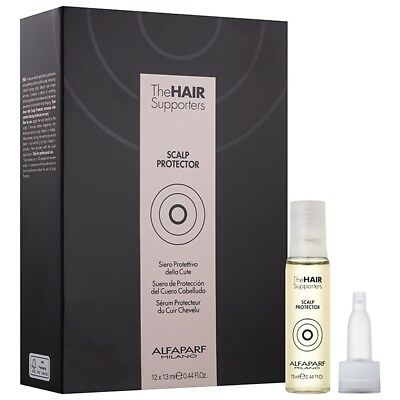 Alfaparf Milano The Hair Supporters Scalp Protector 12 Ampoules 0.44oz