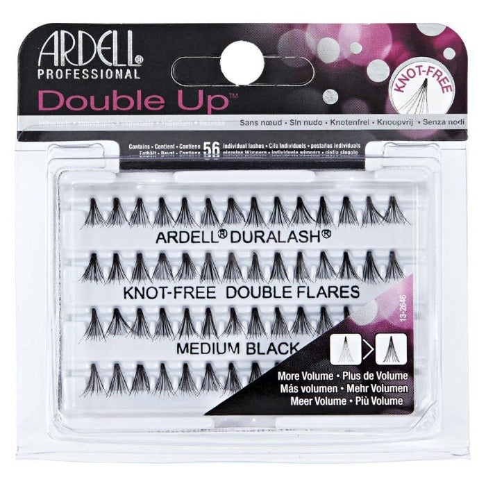 Ardell Professional Double Up Duralash Knot-Free Double Flares