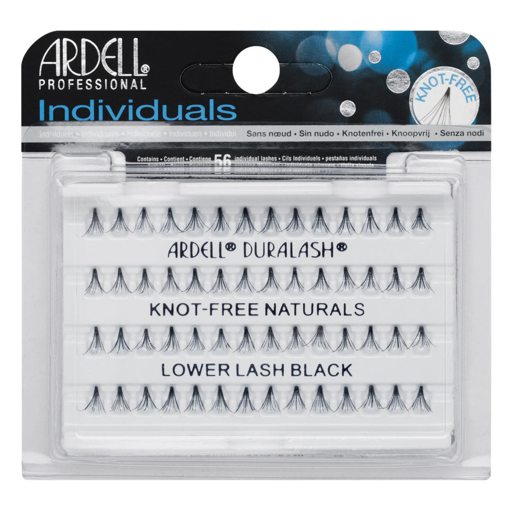 Ardell Professional Individuals Duralash Knot-Free Naturals Lower Lash Black