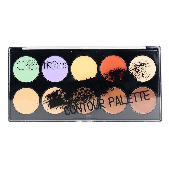 Beauty Creations Corrector & Contour Palette