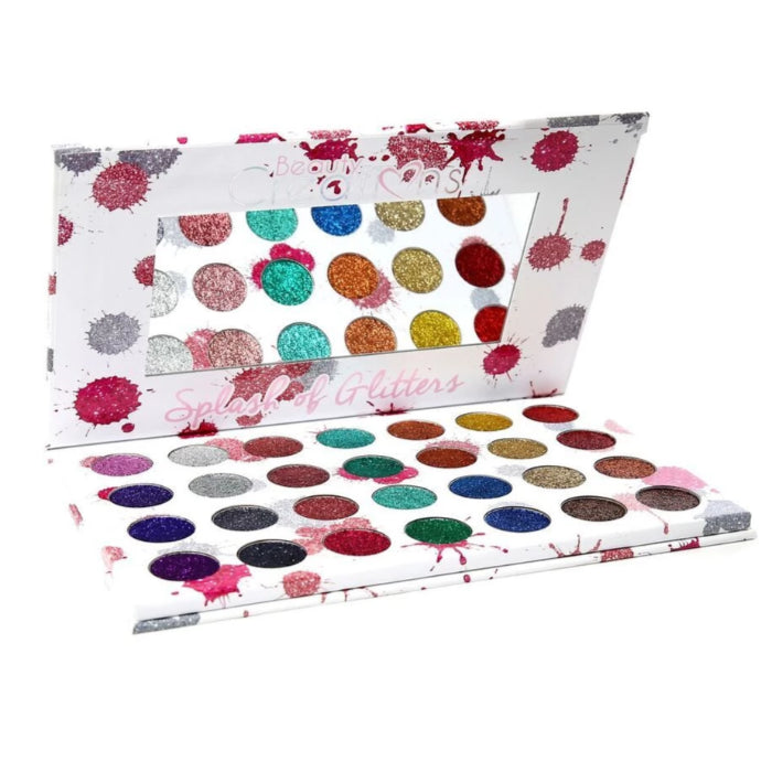 Beauty Creations Splash Of Glitters 28 Color Palette