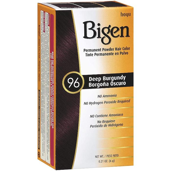 Bigen Permanent Powder Hair Color No Ammonia 6g / 0.21oz