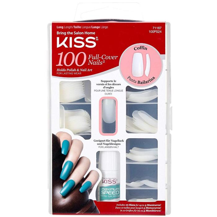 Bring The Salon Home Kiss 100 Full-Cover Nails