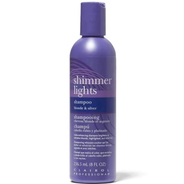 Clairol Professional Shimmer Lights Shampoo Blonde & Silver 8oz / 236.5mL