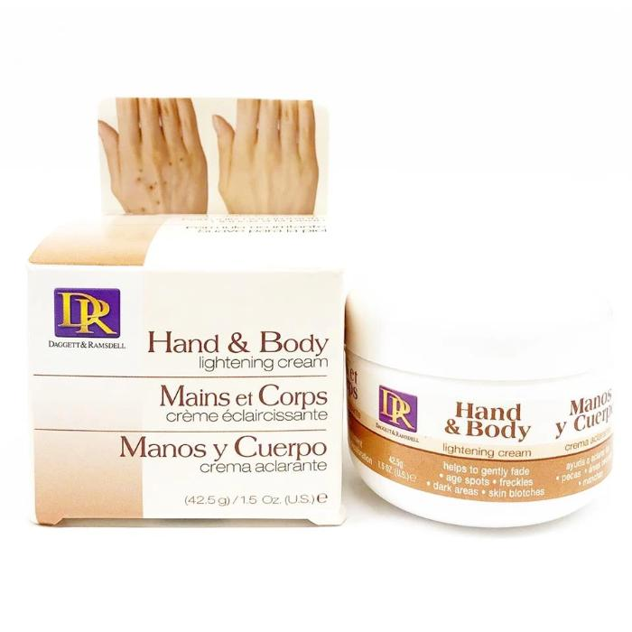 DR Daggett & Ramsdell Hand & Body Lightening Cream 1.5oz / 425g