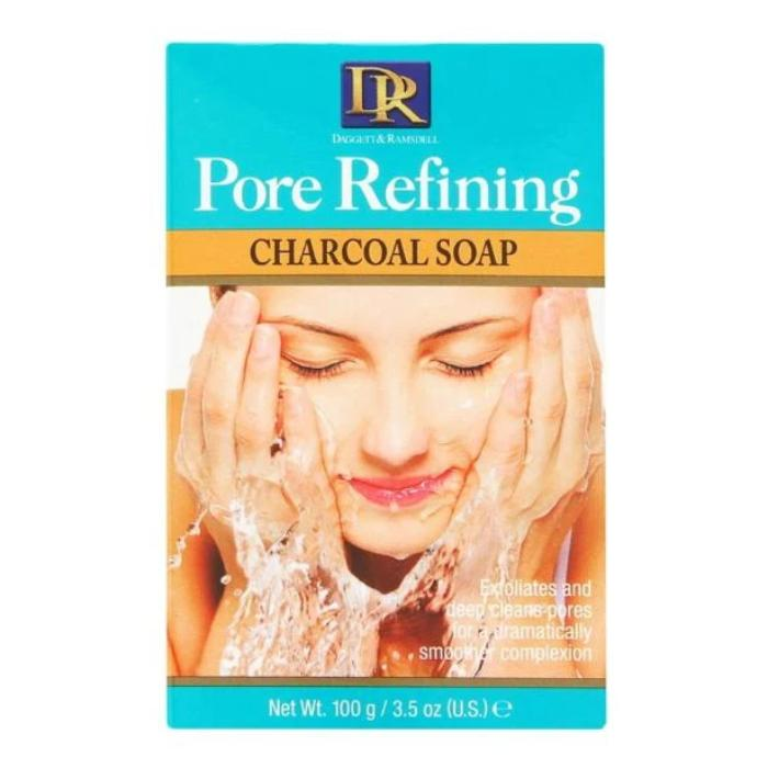 DR Daggett & Ramsdell Pore Refining Charcoal Soap 3.5oz / 100g