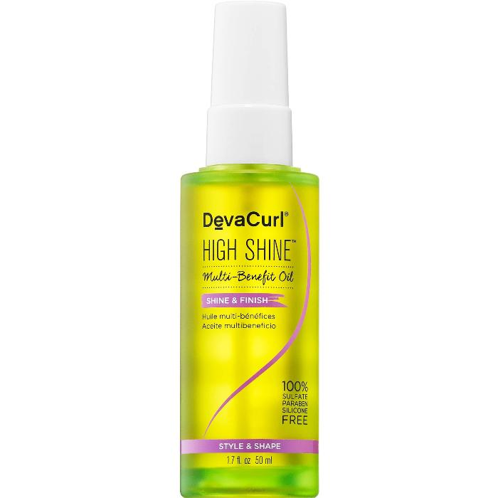 DevaCurl High Shine Multi-Benefit Oil Shine & Finish 1.7oz / 50ml