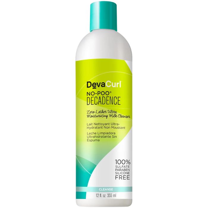 DevaCurl No-Poo Decadence Zero Lather Ultra Moisturizing Milk Cleanser 12oz / 355ml