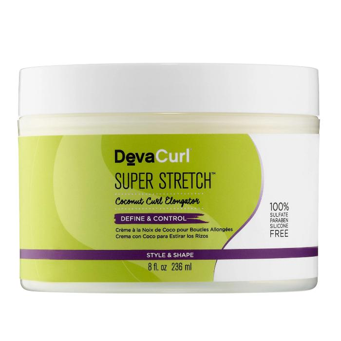 DevaCurl Super Stretch Coconut Curl Elongator Define & Control 8oz / 236ml