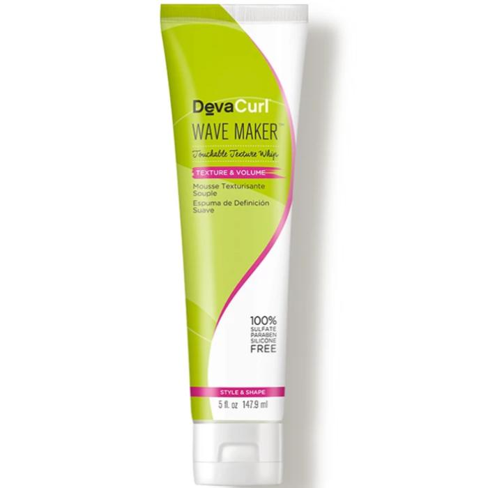 DevaCurl Wave Maker Touchable Texture Whip Texture & Volume 5oz / 147.9ml