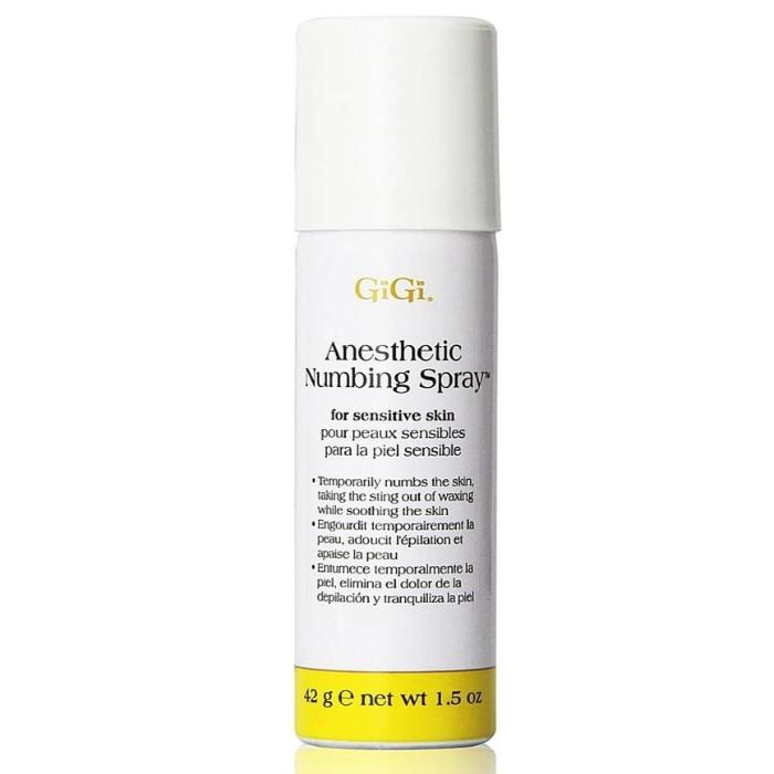 GiGi Anesthetic Numbing Spray For Sensitive Skin 1.5oz / 42g