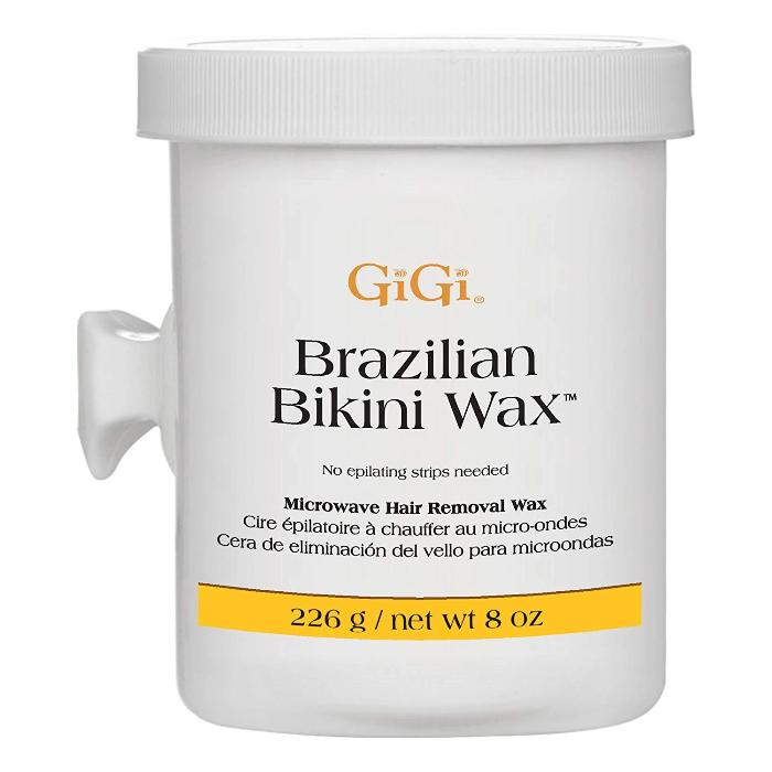 GiGi Brazilian Bikini Wax Microwave Hair Removal Wax 8oz / 226g