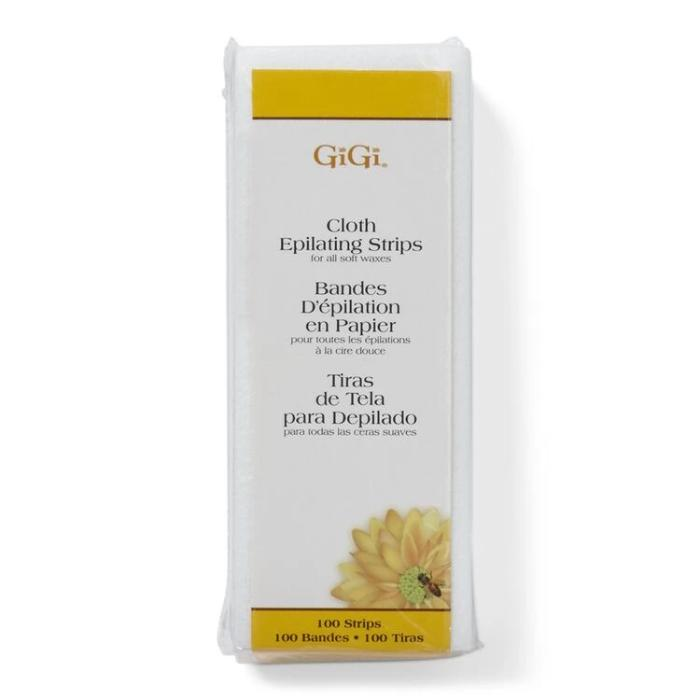 GiGi Cloth Epilating Strips For All Soft Waxes 100 Strips