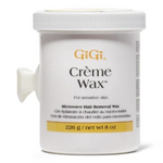 GiGi Crème Wax For Sensitive Skin Microwave Hair Removal Wax 8oz / 226g