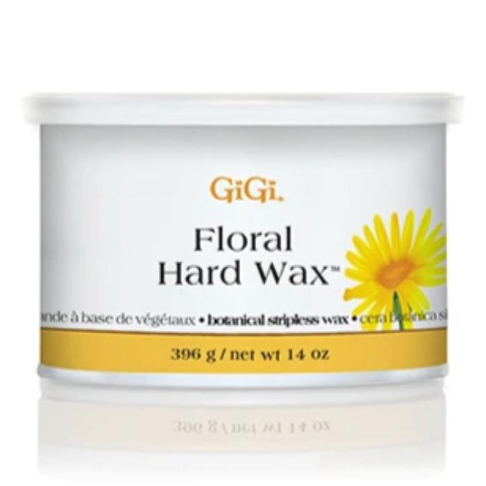 GiGi Floral Hard Wax Botanical Stripless Wax 14oz / 396g