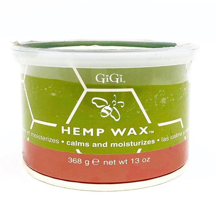 GiGi Hemp Wax Calms And Moisturizes 13oz / 368g